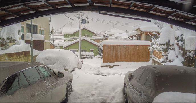 2021年1月新潟の大雪